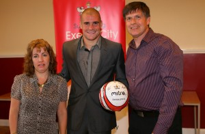 Martins, Matchball Sponsors at Exeter City FC