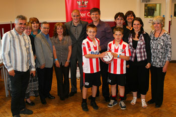 Martins Cleaning with Exeter City Football Club