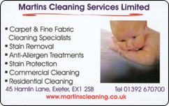 Martiins Cleaning Loyalty Reward Card