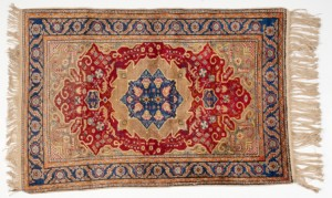 Oriental rug cleaning Devon. Caring for the oldest most delicate rugs to new modern versions