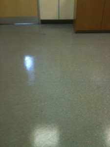 Industrial floor cleaning - After