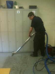 Floor cleaning for removal company in Exeter