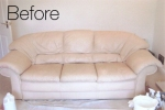 Sofa - Before cleaned by Martins Cleaning