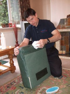 Cleaning Upholstery in Exeter, Devon