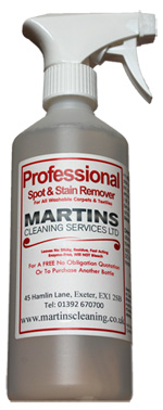 Spotter cleaning product