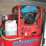 'Spitfire' Truckmount carpet cleaning machine for sale