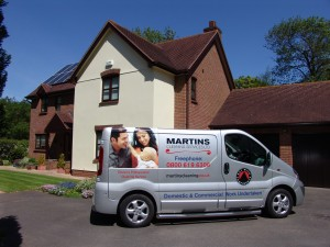 Domestic carpet cleaning service in Exeter and Devon